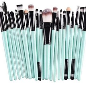 Sweet Pea retro boho makeup brushes lot